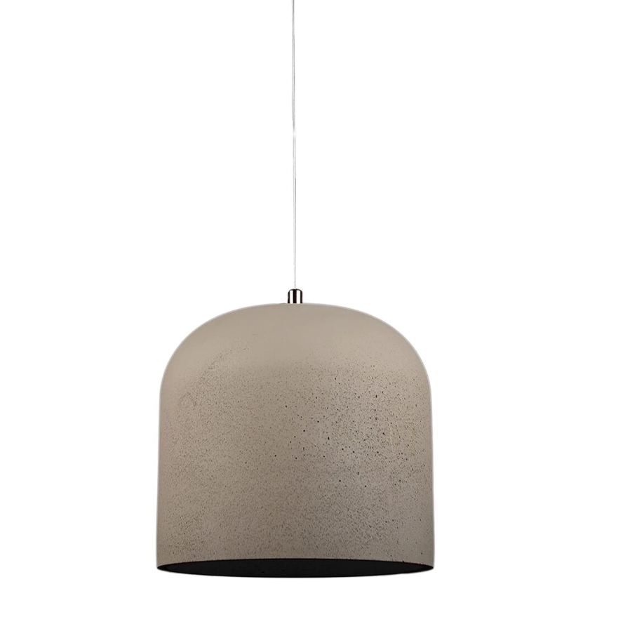 Large Cylinder Concrete Cement Pendant Light
